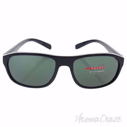 Prada SPS 01R 1AB-3O1 - Black/Grey Green by Prada for Men -