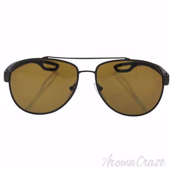 Prada SPS 55Q UEA-5Y1 - Brown Rubber/Brown Polarized by Prad