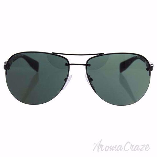 Prada SPS 56M 7AX-3O1 - Black/Gray Green by Prada for Men -