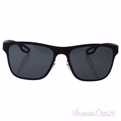 Prada SPS 56Q DG0-1A1 - Black Rubber/Grey by Prada for Men -