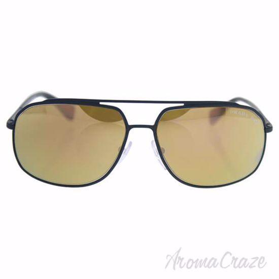 Picture of Prada SPS 56R UFI-5N2 - Green Rubber/Dark Brown Gold Polarized by Prada for Men - 60-14-140 mm Sunglasses