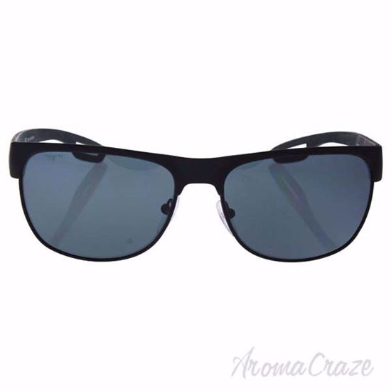 Prada SPS 57Q DG0-5Z1 - Black Rubber/Grey Polarized by Prada