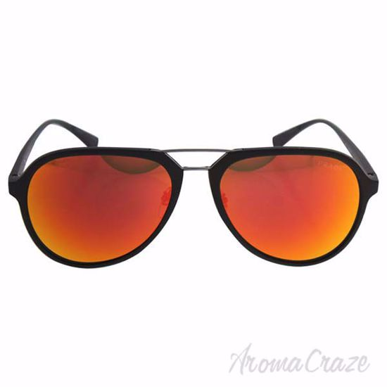 Prada SPS 05R UFI-5M0 - Green Rubber/Brown Orange by Prada f