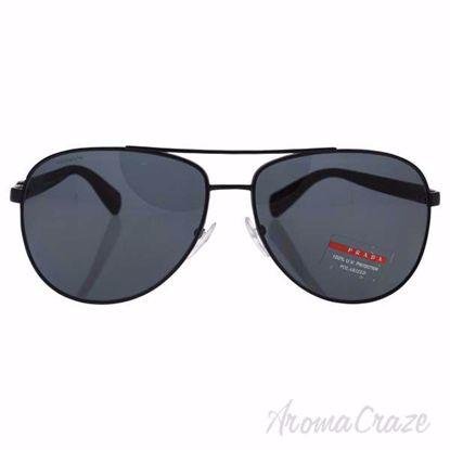 Prada SPS 510 1BO-5Z1 - Black/Grey Polarized by Prada for Un