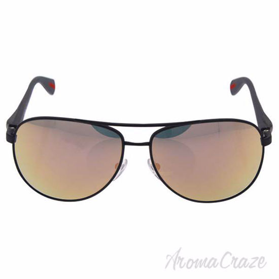 Prada SPS 510 TFZ-2D2 - Grey Mirror Rose Gold/Grey Rubber by