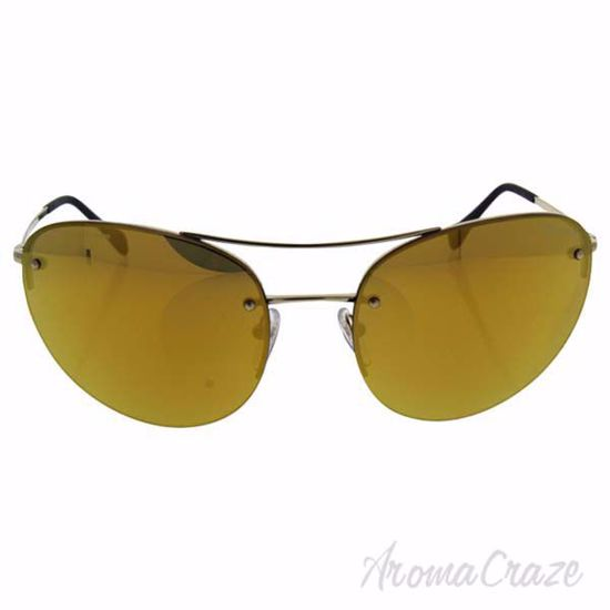 Picture of Prada SPS 51R ZVN-5NO - Gold/Orange by Prada for Unisex - 59-18-135 mm Sunglasses