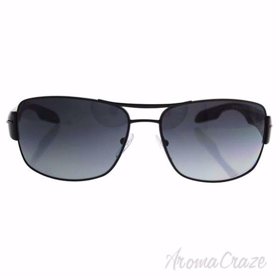 Picture of Prada SPS 53N 7AX-5W1 - Black/Grey Gradient Polarized by Prada for Men - 65-16-130 mm Sunglasses