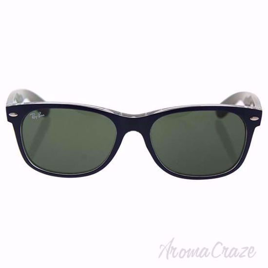 Ray Ban Sunglasses RB 2132 6188 New Wayfarer - Blue/Green Classic by Ray-Ban Sunglasses for Unisex - 55-18-145 mm Sunglasses on sunglasscraze.com