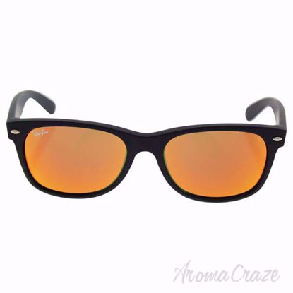 Ray Ban RB 2132 622/69 New Wayfarer - Black/Orange Flash by