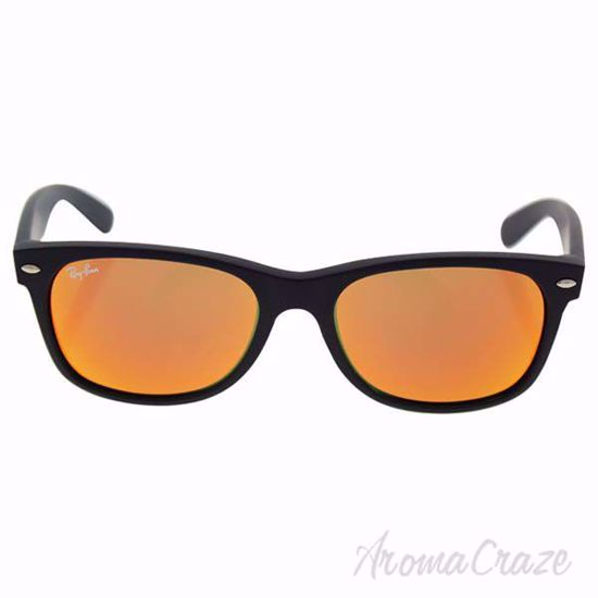 Ray Ban RB 2132 622/69 New Wayfarer - Black/Orange Flash by