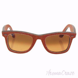 Ray Ban RB 2140 1165/3C Wayfarer - Orange Denim Orange/Orange Gradient by Ray Ban for Unisex - 50-22-150 mm Sunglasses