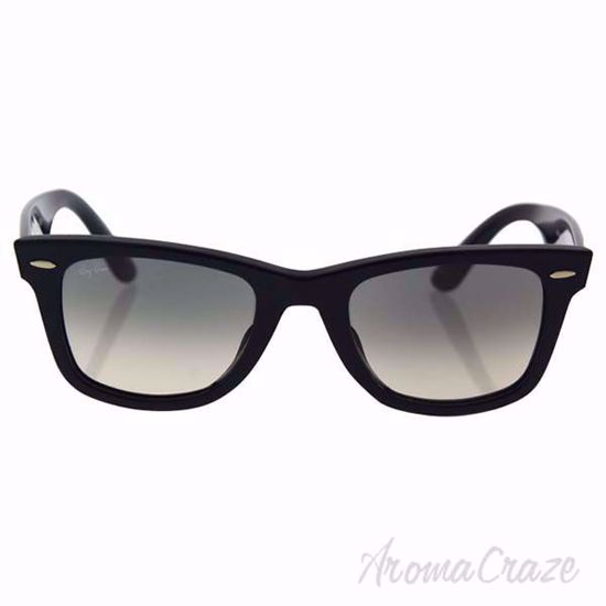 Ray Ban RB2140-F 901/32 Wayfarer - Black/Green by Ray Ban for Men - 52-22-150 mm Sunglasses on SunglassCraze.com