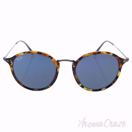 Ray Ban RB 2447 1158/R5 - Spotted Blue Havana/Grey by Ray Ba