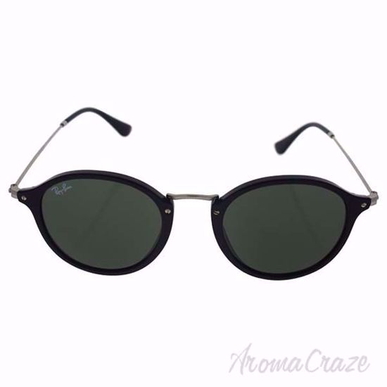 Ray Ban Sunglasses RB 2447 901 Black Silver/Green Classic G-15  for Unisex 49-21-145 mm Sunglasses.