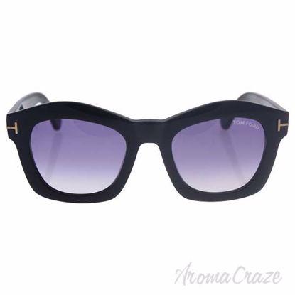 Tom Ford FT0431/S Greta 01Z - Shiny Black/Violet Gradient by