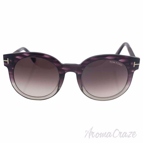 Tom Ford FT0435 Janina 83T - Purple Grey/Grey Gradient by To
