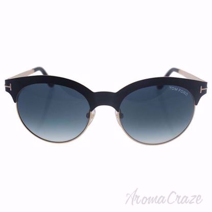 Tom Ford FT0438/S Angela 05P - Black Green/Blue Gradient by