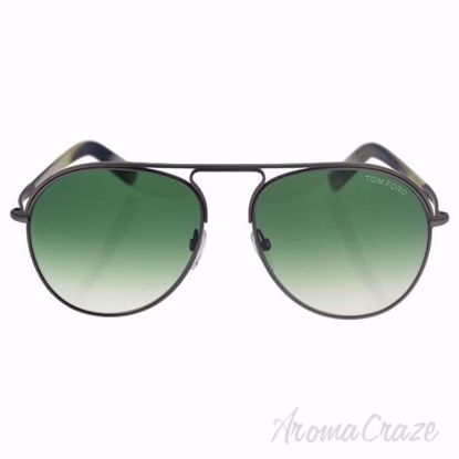 Tom Ford FT0448 Cody 14P - Silver/Green Gradient by Tom Ford