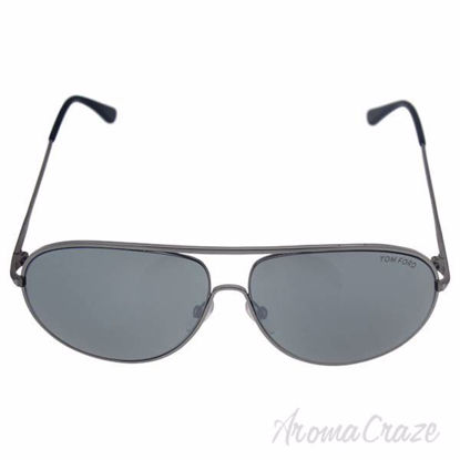 Tom Ford FT0450/S Cliff 14C - Shiny Ruthenium Grey/Grey by T