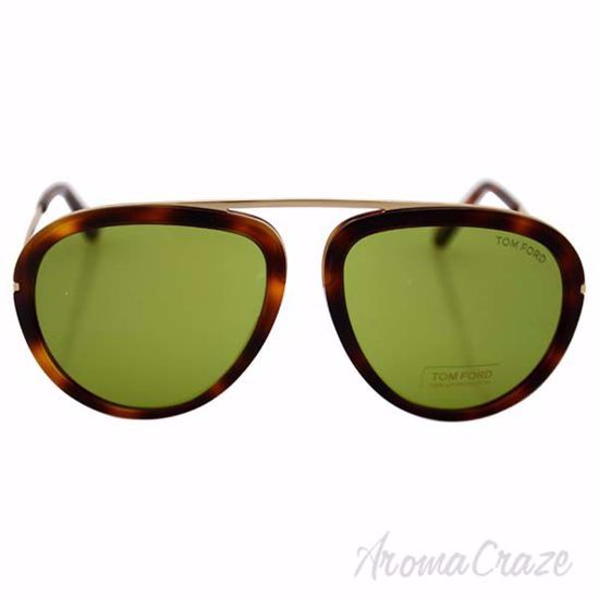 Tom Ford FT0452 Stacy 56N - Brown/Green by Tom Ford for Unis