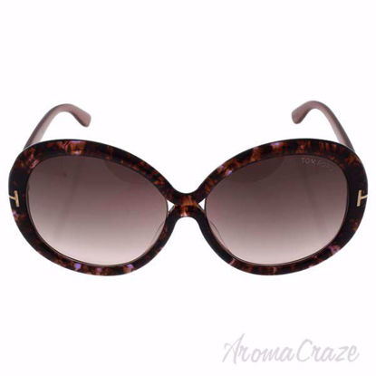 Tom Ford FT388 50F Gisella - Brown Marble/Brown Gradient by