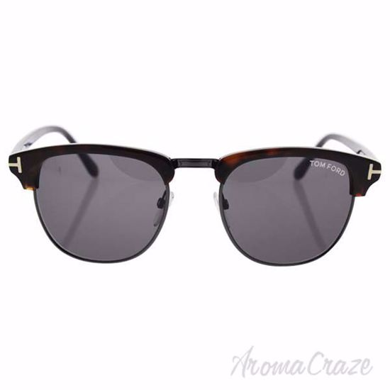 Tom Ford TF248 52A Henry - Dark Havana/Smoke by Tom Ford for