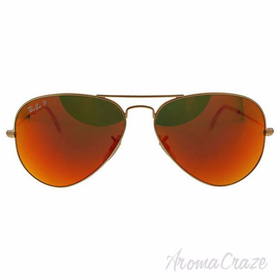 Ray Ban RB 3025 112/4D Aviator Large Metal - Gold/Orange Fla