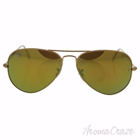 Picture of Ray Ban RB 3025 112/93 Aviator Large Metal - Gold/Yellow Flash by Ray Ban for Men - 58-14-135 mm Sunglasses