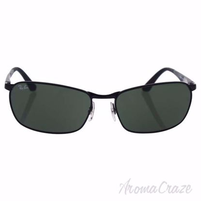 Ray Ban RB 3534 002 - Black/Green Classic by Ray Ban for Men