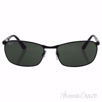 Ray Ban RB 3534 002 - Black/Green Classic by Ray Ban for Uni