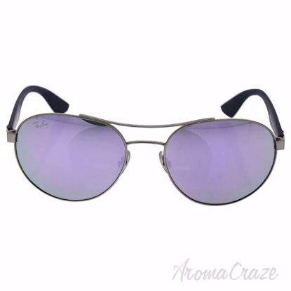 Ray Ban RB 3536 019/4V - Silver/Blue/Lilac by Ray Ban for Un