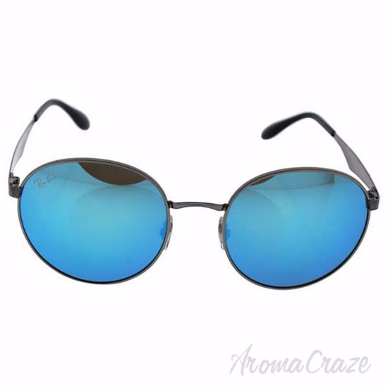 Ray Ban RB 3537 004/55 - Gunmetal/Blue by Ray Ban for Unisex