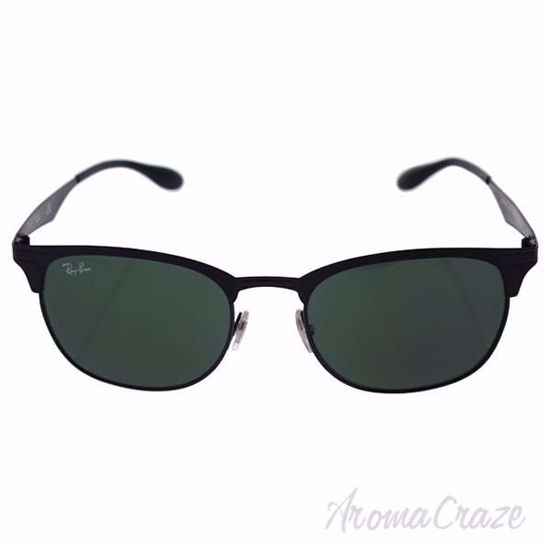 Picture of Ray Ban RB 3538 186/71 - Black/Green Classic by Ray Ban for Unisex - 53-19-145 mm Sunglasses