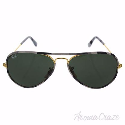 Ray Ban RB 3025-J-M Aviador Full Color 171 - Gold/Brown by R