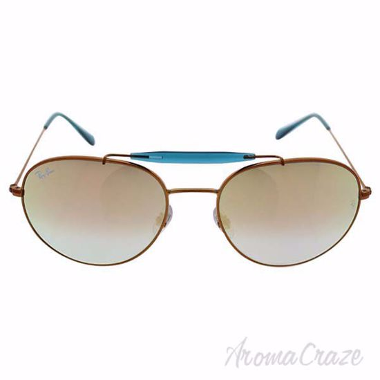 Picture of Ray Ban RB 3540 198/7Y - Bronze Copper/Copper Gradient Flash by Ray Ban for Unisex - 58-18-140 mm Sunglasses