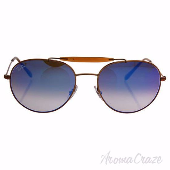 Ray Ban RB 3540 198/8B - Bronze Copper/Blue Gradient Flash b