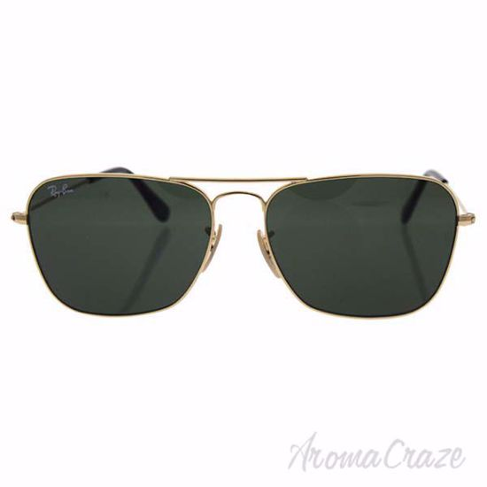 Ray Ban RB 3136 181 Caravan - Gold/Green by Ray Ban for Men