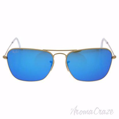 Ray Ban RB 3136 Caravan - Gold/Blue Flash by Ray Ban for Wom