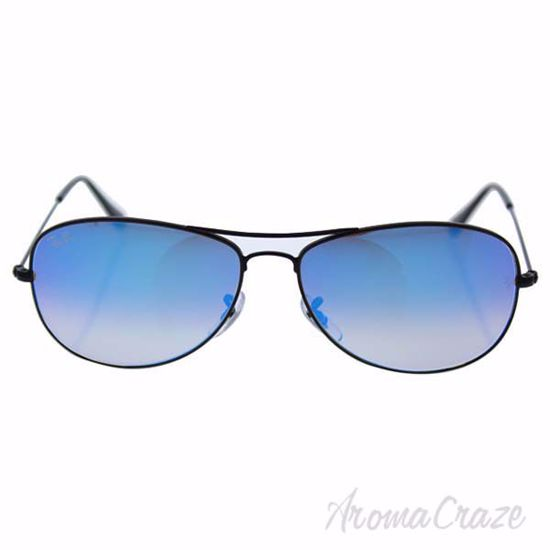 Ray Ban RB 3362 002/40 Cockpit - Black/Blue Gradient Flash b