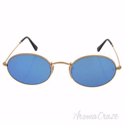 Ray Ban RB 3547N 001/90 - Gold/Light Blue Gradient Flash by