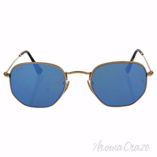 Ray Ban RB 3548-N 001/90 - Gold Shiny/Blue by Ray Ban for Un
