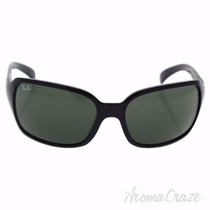 Ray Ban RB 4068 601 - Black/Green Classic by Ray Ban for Wom