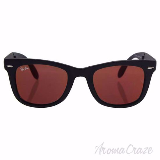 Picture of Ray Ban RB 4105 601-S/2K Folding Wayfarer - Black/ Red by Ray Ban for Men - 50-22-140 mm Sunglasses