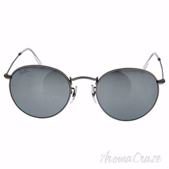 Ray Ban RB 3447 019/30 Round Metal - Silver/Silver Flash by