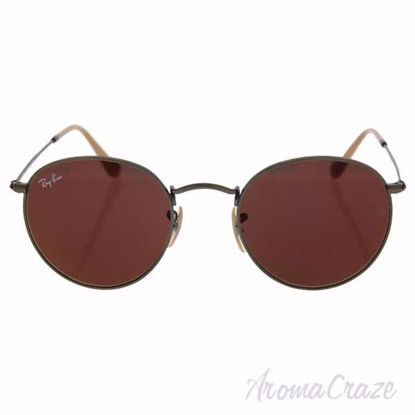Ray Ban RB 3447 167/2K Round Metal - Bronze/Red by Ray Ban f