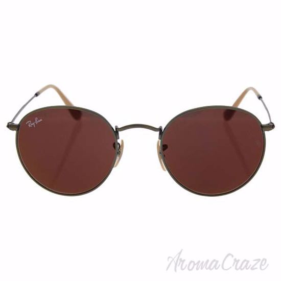 Picture of Ray Ban RB 3447 167/2K Round Metal - Bronze/Red by Ray Ban for Unisex - 50-21-145 mm Sunglasses