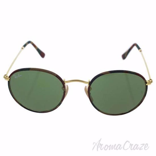 Ray Ban RB 3447JM 168/4E - Multicolor Gold/Green Classic by