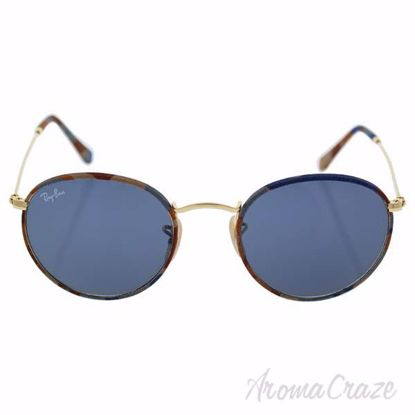 Ray Ban RB 3447JM 170/R5 - Multicolor Gold/Blue Gray Classic