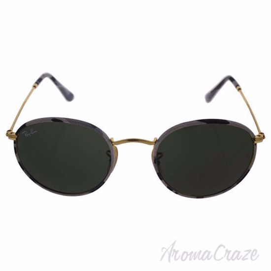 Ray Ban RB 3447JM 171 - Multicolor Gold/Green Classic G-15 b