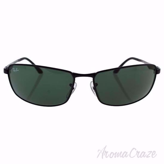 Ray Ban RB 3498 002/71 - Black/Green by Ray Ban for Men - 64